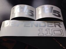 Defender 110 Td5 Stickers Graphics Decals Land Rover Badge Boot Rear Vinyl
