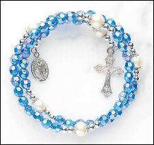 Sapphire Wrap Style Rosary Bracelet NEW SKU ND033