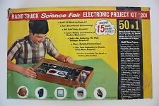 VINTAGE RADIO SHACK SCIENCE FAIR ELECTRONIC PROJECT KIT # 201