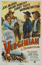 THE VIRGINIAN Movie POSTER 27x40 B Gary Cooper