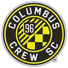 "Columbus Crew SC USA MLS Football Soccer Car Bumper Vinyl Sticker Decal 4.6""X4.6"