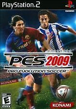 Pro Evolution Soccer 2009 PES PlayStation 2 PS2 play station BRAND NEW!