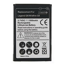 Power Akku 1500 mAh  HTC Wildfire G8  Legend G6 Batterie Accu  Neu
