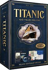 Titanic: 100 Years Below (DVD, 2012, 2-Disc Set, With Book DVD/CD)