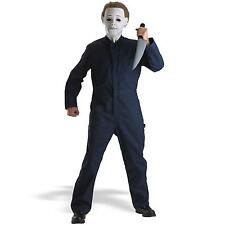 New Mens Adult Halloween Michael Myers Costume Mens Standard chest to 44""