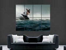JET SKI EXTREME SPORTS  LARGE WALL  POSTER PICTURE PRINT