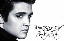 Framed Print – Elvis Presley The King of Rock and Roll (Picture Poster Art)