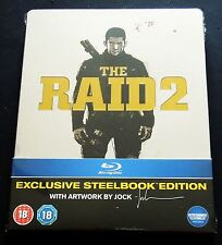 THE RAID 2 - UK  ENTERTAINMENT STORE EXCLUSIVE STEELBOOK * NEW & SEALED *