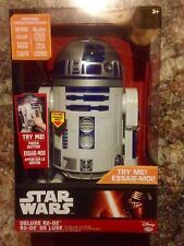 "Brand New Jakks Big-Figs Deluxe Star Wars 20""R2-D2 ElectronicFigure (31"" Scale)"
