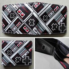 Nintendo Co., Ltd. handle Logo 1 wallets Purse Multi-Color 12cm Leather New
