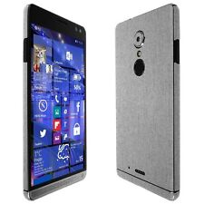 Skinomi Brushed Aluminum Skin+Clear Screen Protector for HP Elite x3
