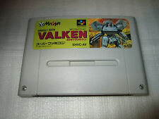 ASSAULT SUITS VALKEN   / super famicom / snes / nintendo