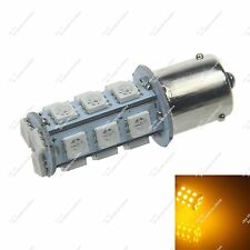1X Yellow 18 SMD 5050 LED BAU15s 150° 1056 7507 PY21W Turn/Brake/Reverse Light