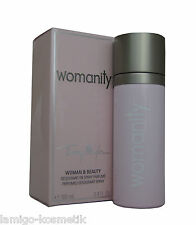 Thierry Mugler Womanity PERFUMED DEODORANT SPRY 100ml.