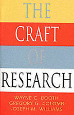 The Craft of Research (Chicago Guides to Writing-ExLibrary
