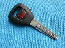 NEW GENUINE HONDA FACTORY ORIGINAL TRANSPONDER KEY BLANK 1997 - 2004