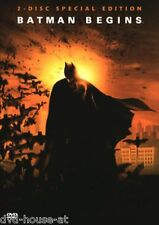 DVD * BATMAN BEGINS * WIE NEU * 2 DISC SPECIAL EDITION IM PAPPSCHUBER * Limited