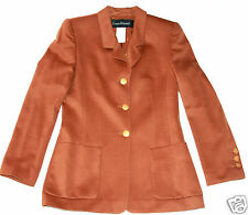 LOUIS FERAUD WOMENS' PURE CASHMERE JACKET BLAZER SIZE UK 10/FR 36  BUST 36""