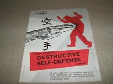 Joe Weider Bodybuilding Destructive Self Defense Course Lesson #11 Karate