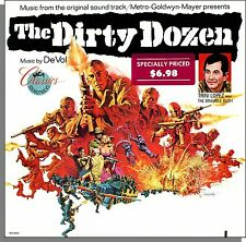 The Dirty Dozen - Original Frank De Vol Soundtrack - New LP Record! Trini Lopez!