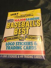 1987  Fleers Limited Edition Baseball Best