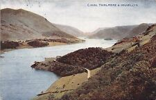 LAKE DISTRICT CUMBRIA UK THIRLMERE HELVELLYN PHOTOCHROM #C.9336 POSTCARD 1921 PM