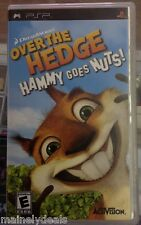 Over The Hedge Hammy Goes Nuts! (Play Station Portable, Psp, 2006)  Tested!