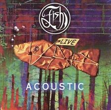 """FISH of MARILLION """"Fish Live Acoustic"""" 2 CD set FISH LIVE ACOUSTIC Made England"""