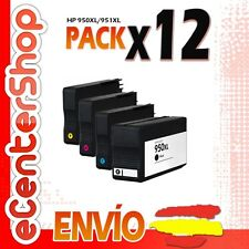 12 Cartuchos de Tinta NON-OEM 950/951XL - HP Officejet Pro 8100