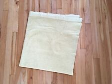 Vintage NORTH STAR WOOLEN MILL CO Thermal Waffle Weave Baby Blanket Nylon Trim