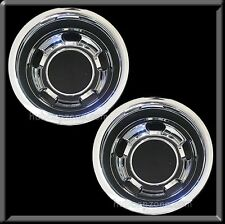"(2) 2003-2015 Dodge Ram Truck 3500 Rear Pair 17"" Hub caps Wheel Simulator Dually"