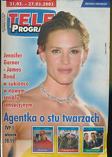 TELE PROGRAM 2003/12 (21/3/2003) JENNIFER GARNER JAMES BOND
