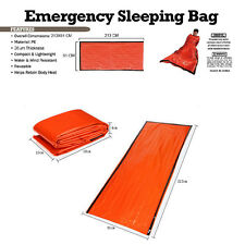New Emergency Sleeping Bag Wilderness Camping Outdoor Survival cold weather