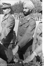 German Army Free Indian Sikh Legion Soldiers World War 2 Reprint Photo 6x4 Inch