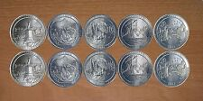 2011 National Park Quarters  P& D Yearly Uncirculated coin set