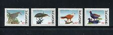 Singapore 434-437, MNH, Birds Black Bittern,  Brahminy Kite 1984. x19119