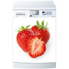 Magnet geschirrspülmaschine Erdbeere 60x60cm ref 599 599
