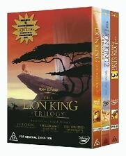 The Lion King Trilogy (DVD, 2004, 3-Disc Set) ALL DISCS LIKE NEW!!