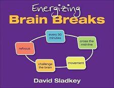 Energizing Brain Breaks by David U. Sladkey (2013, Spiral)