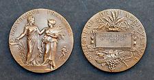 Médaille Ministère de l'Agriculture. Concours Régional d'Évreux 1903. Bronze