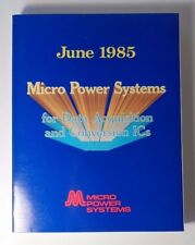 1985 Micro Power Systems - Data Acquisition & Conversion ICs - Data book