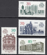 DDR 1987 Mi. Nr. 3071-3074 Postfrisch ** MNH