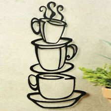Coffee House Cup Decal Removable Kitchen Wall Sticker Decor Art Vinyl DIY Mural