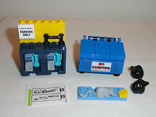 LEGO Kwik E Mart Blue Dumpster Black Trash Bags Phone Booths 71016 NEW Simpson's