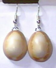 Natural Cowrie Shell, Earrings