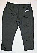 NEW!! Women's Medium Asics black capri running/work-out leggings - NEW!