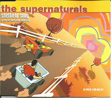 THE SUPERNATURALS Sheffield Song w/ 2 UNRELEASED TRX CD single SEALED USA Seller