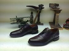 MADE IN USA KEITH HIGHLANDERS GRENADIERS OXBLOOD LEATHER BUSINESS SHOES 9.5 D/B