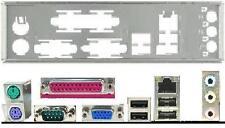 ATX Blende I/O shield Asus M2N68-AM SE SE2 EPU P5KPL-AM #36 P8H61-M LX io NEU