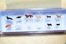 HO 1:87 scale Preiser 14165 ASSORTED DOGS and CATS Figures